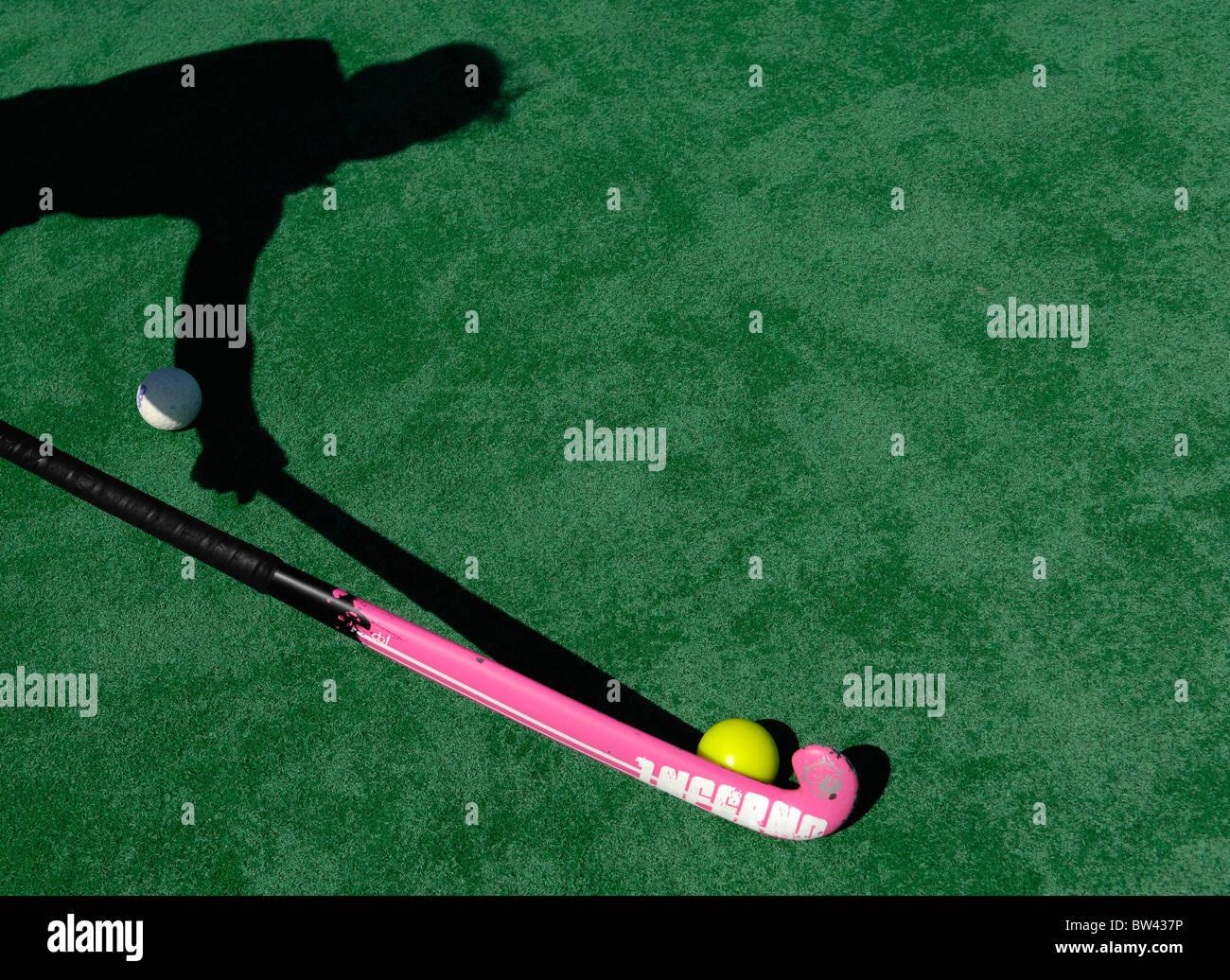 Jugador del hockey sobre Imagen De Stock