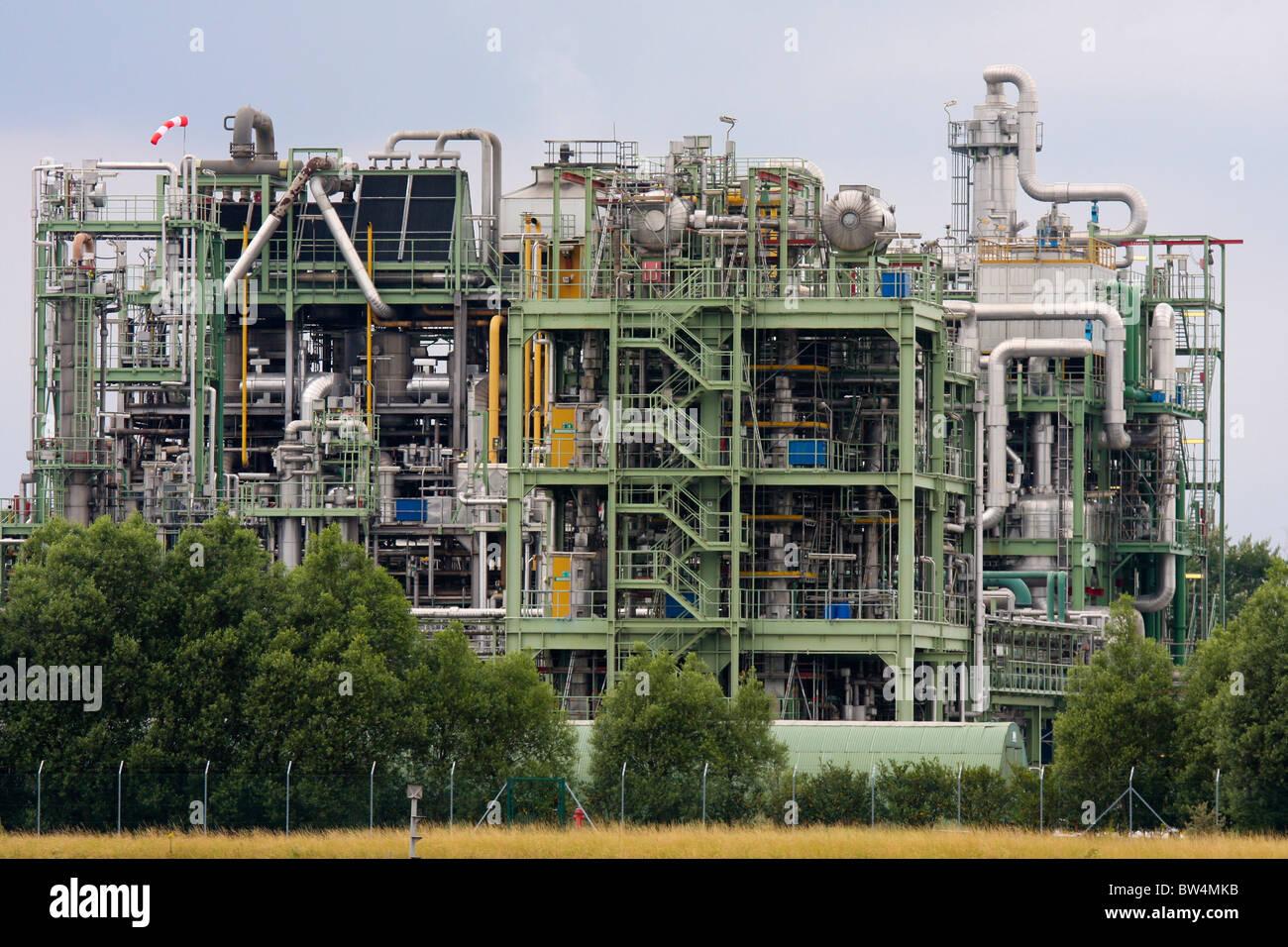 Fábrica de productos químicos Imagen De Stock