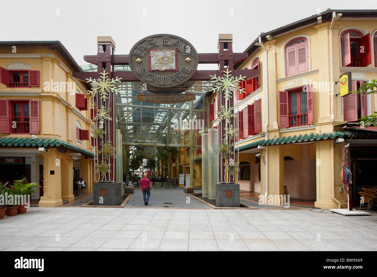 Far East Square shopping mall, Chinatown, Singapur Imagen De Stock