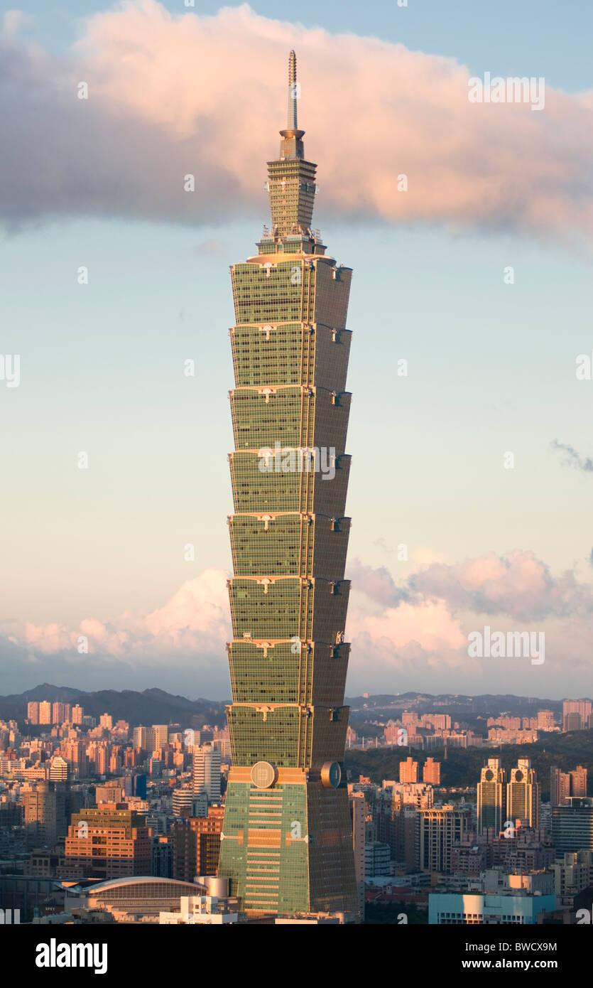 Taipei Taiwán Taipei 101 Imagen De Stock