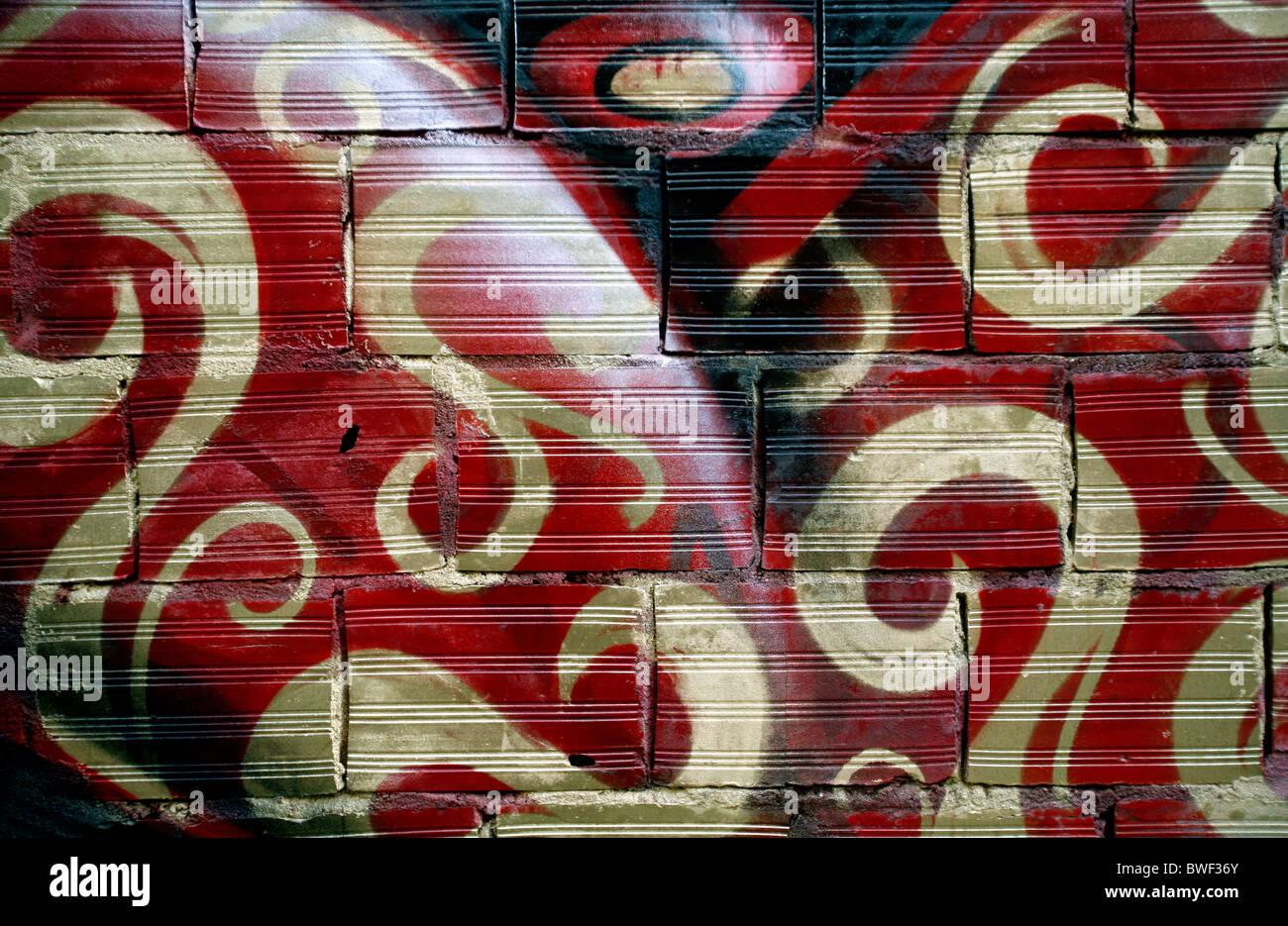 Arte urbano Imagen De Stock