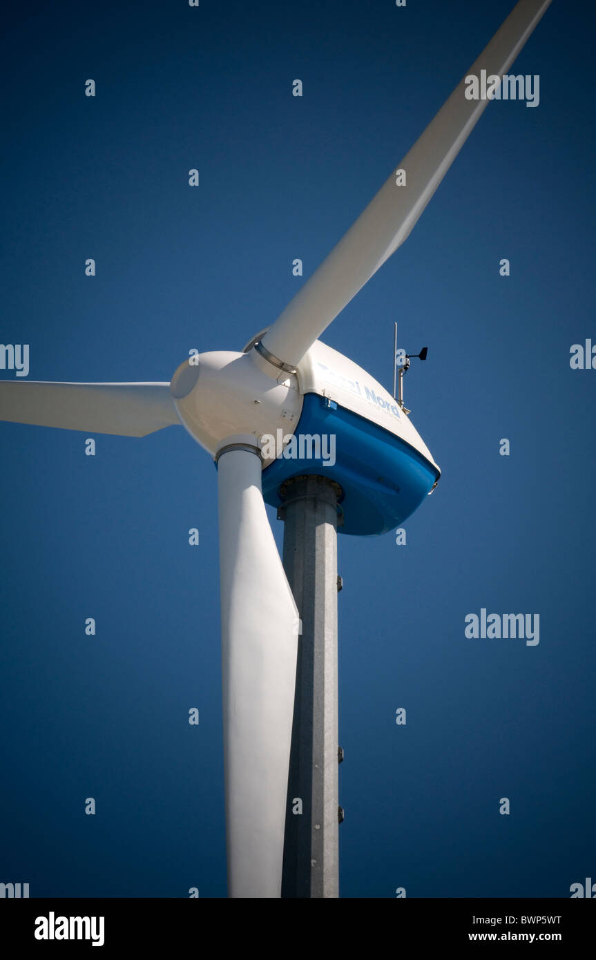 Fuentes renovables de energía renovable turbina de energía eólica MOLINO MOLINO molinos aerogeneradores Imagen De Stock