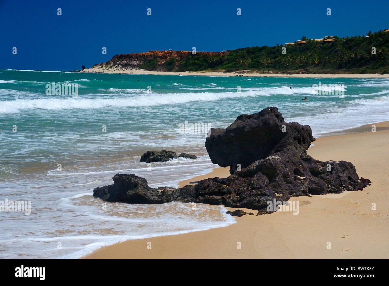 Praia do Amor, Pipa. Foto de stock
