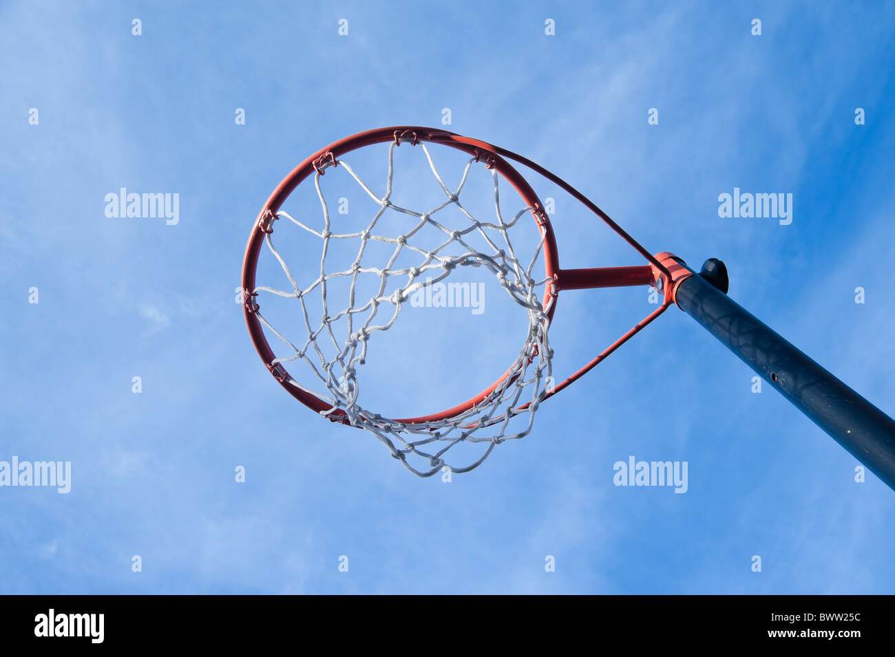 Aro de Netball Imagen De Stock