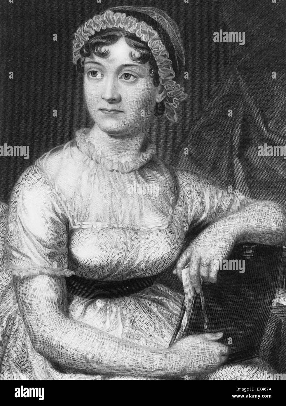 JANE AUSTEN (1775-1817), novelista inglés Imagen De Stock