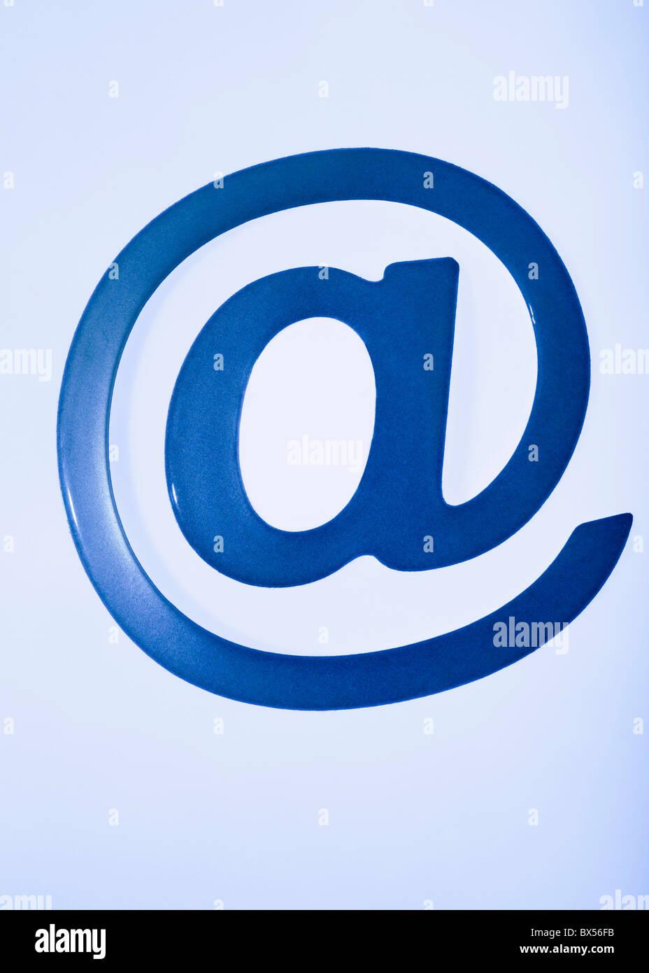 Símbolo de correo electrónico Imagen De Stock