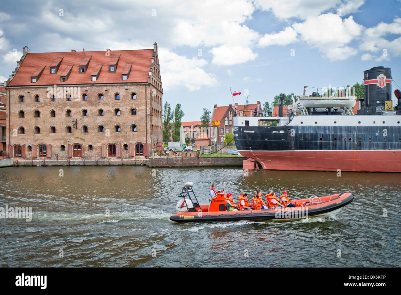 La histórica ciudad de Gdansk, Polonia Imagen De Stock