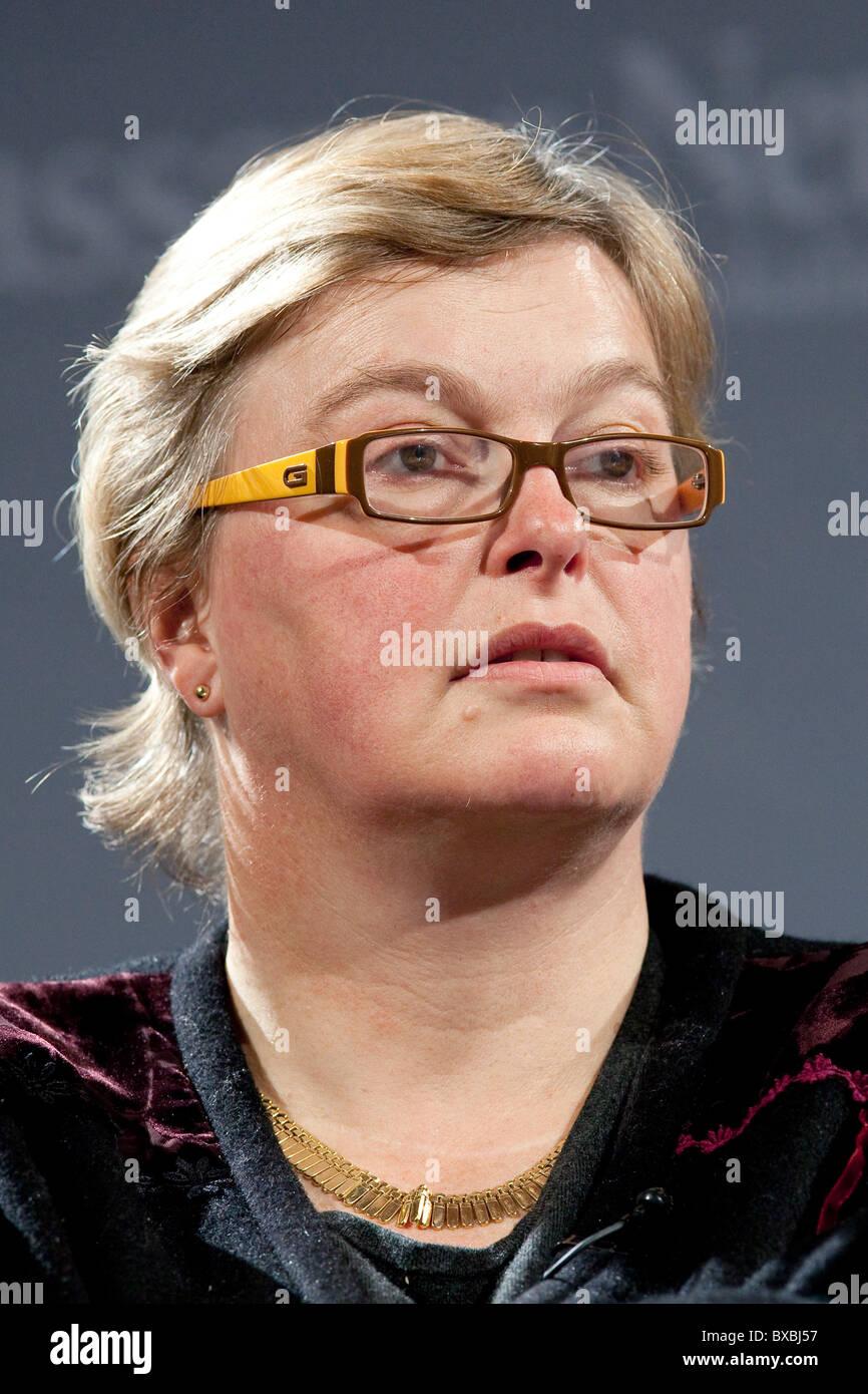 Walburga Habsburg Douglas, abogado y político, miembro del parlamento sueco y co-fundador de la Conferencia Imagen De Stock