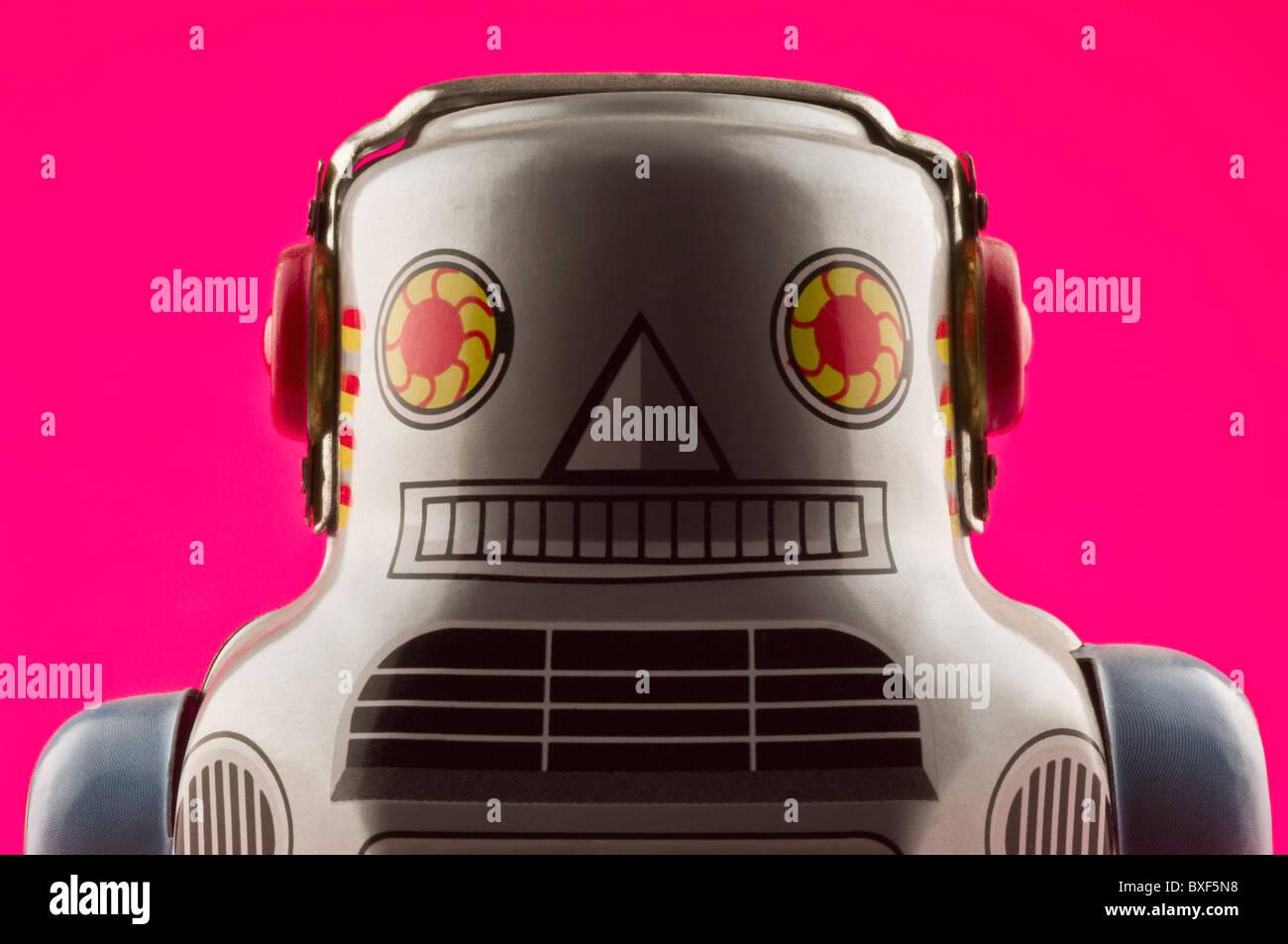 Robot de juguete Imagen De Stock
