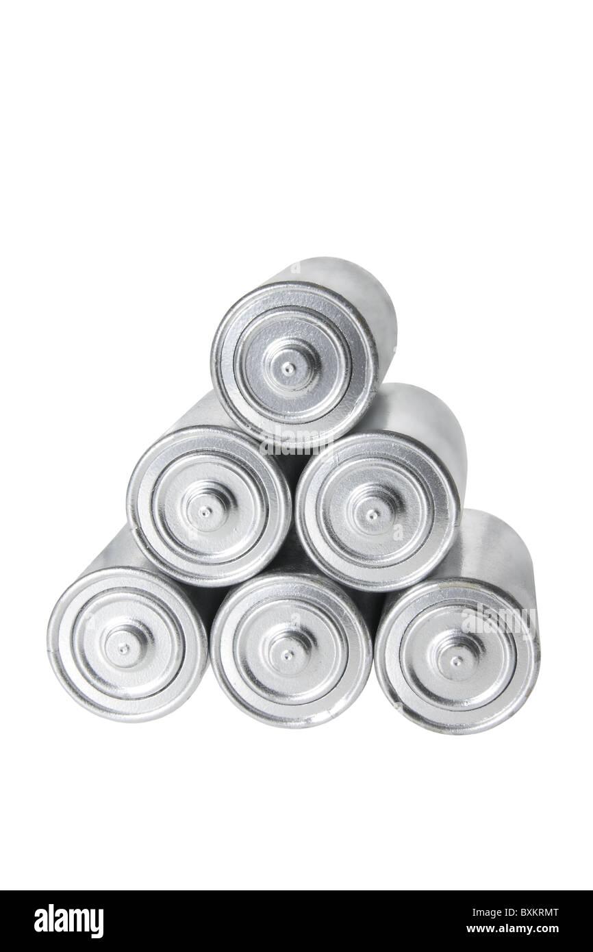 Pila de baterías Imagen De Stock