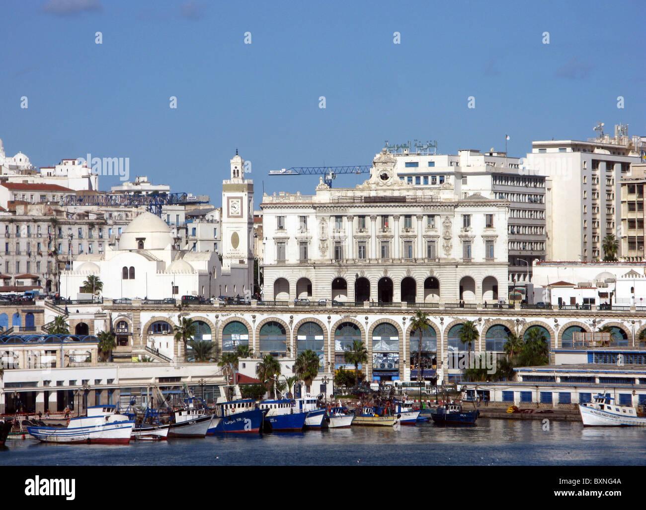 Argel, ciudad de Argel en Argelia, Norte de África Imagen De Stock