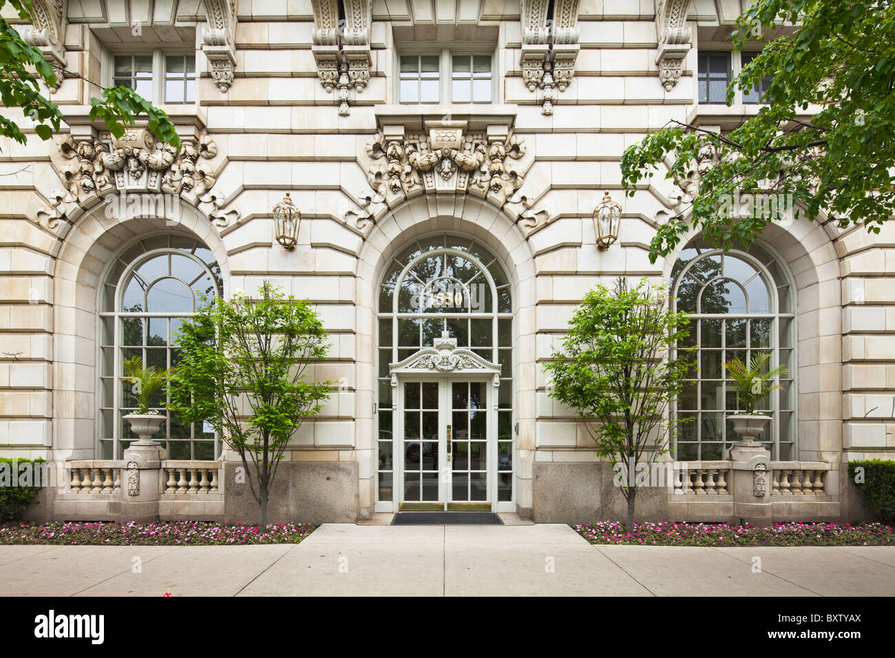 Benjamin Edificio Marshall, Chicago Imagen De Stock