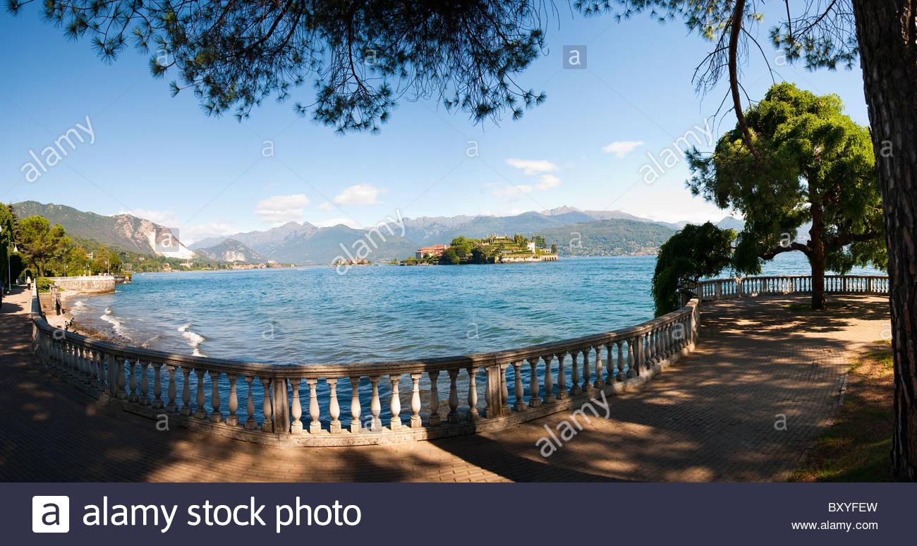 Isola Bella Lago Maggiore, Italia Imagen De Stock
