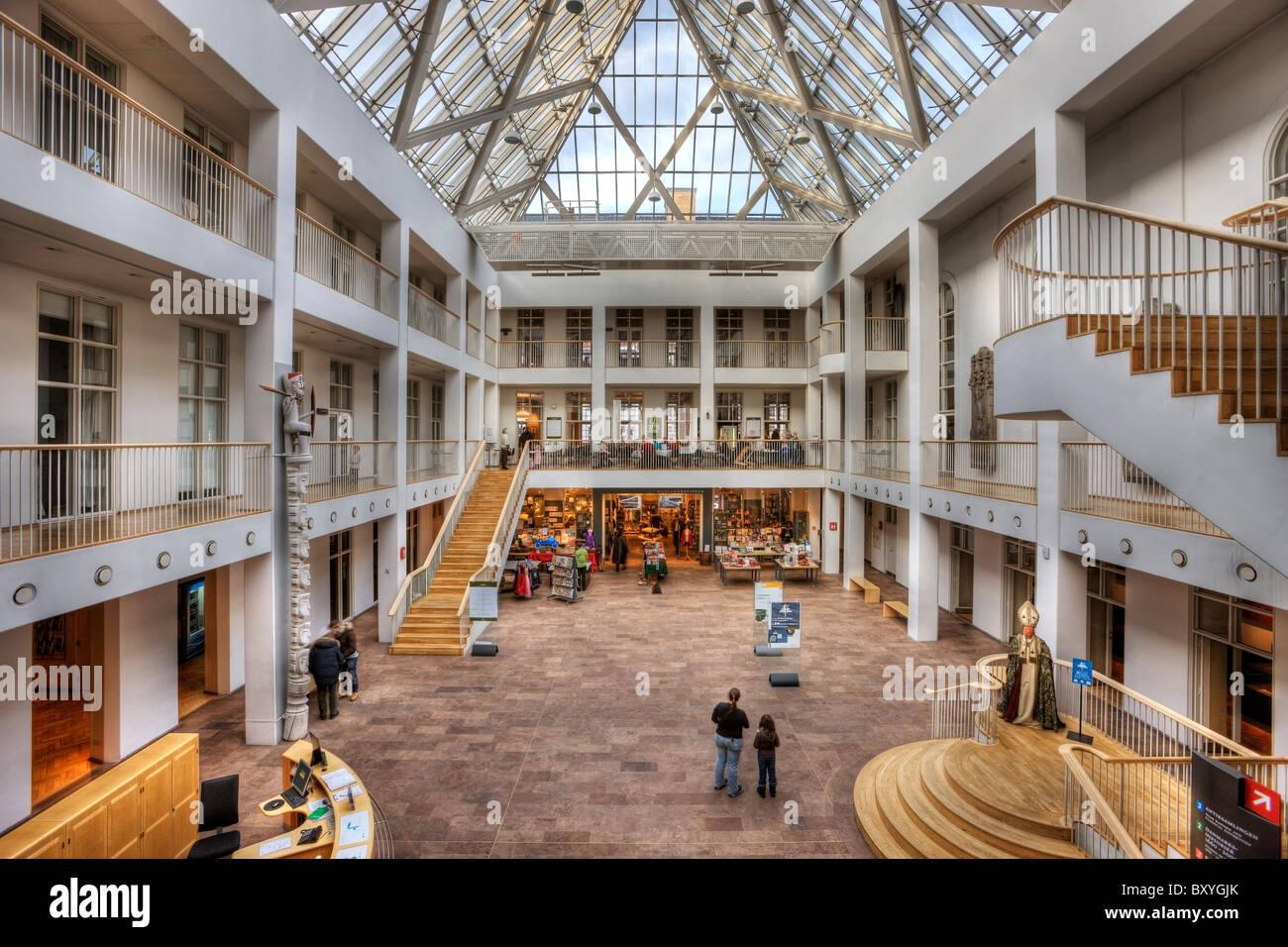 El Museo Nacional de Copenhague Foto de stock