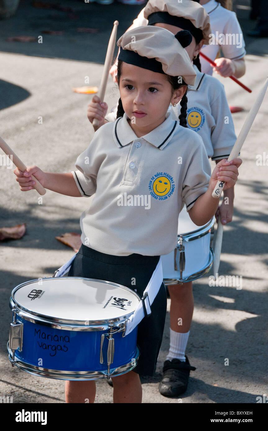 Día de la independencia del Valle Central de Costa Rica Imagen De Stock