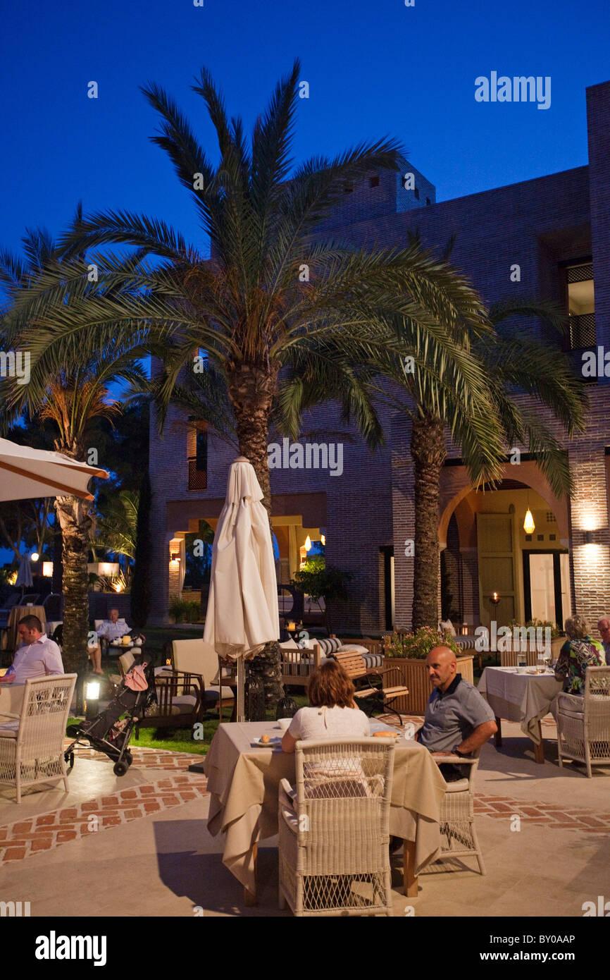 Entretenimiento Hotel Vincci Estrella de Mar Marbella Málaga Andalucía España Imagen De Stock