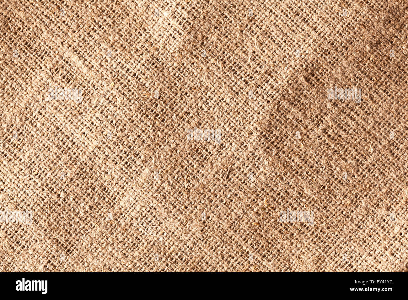 Imagen textura de arpillera. Imagen De Stock
