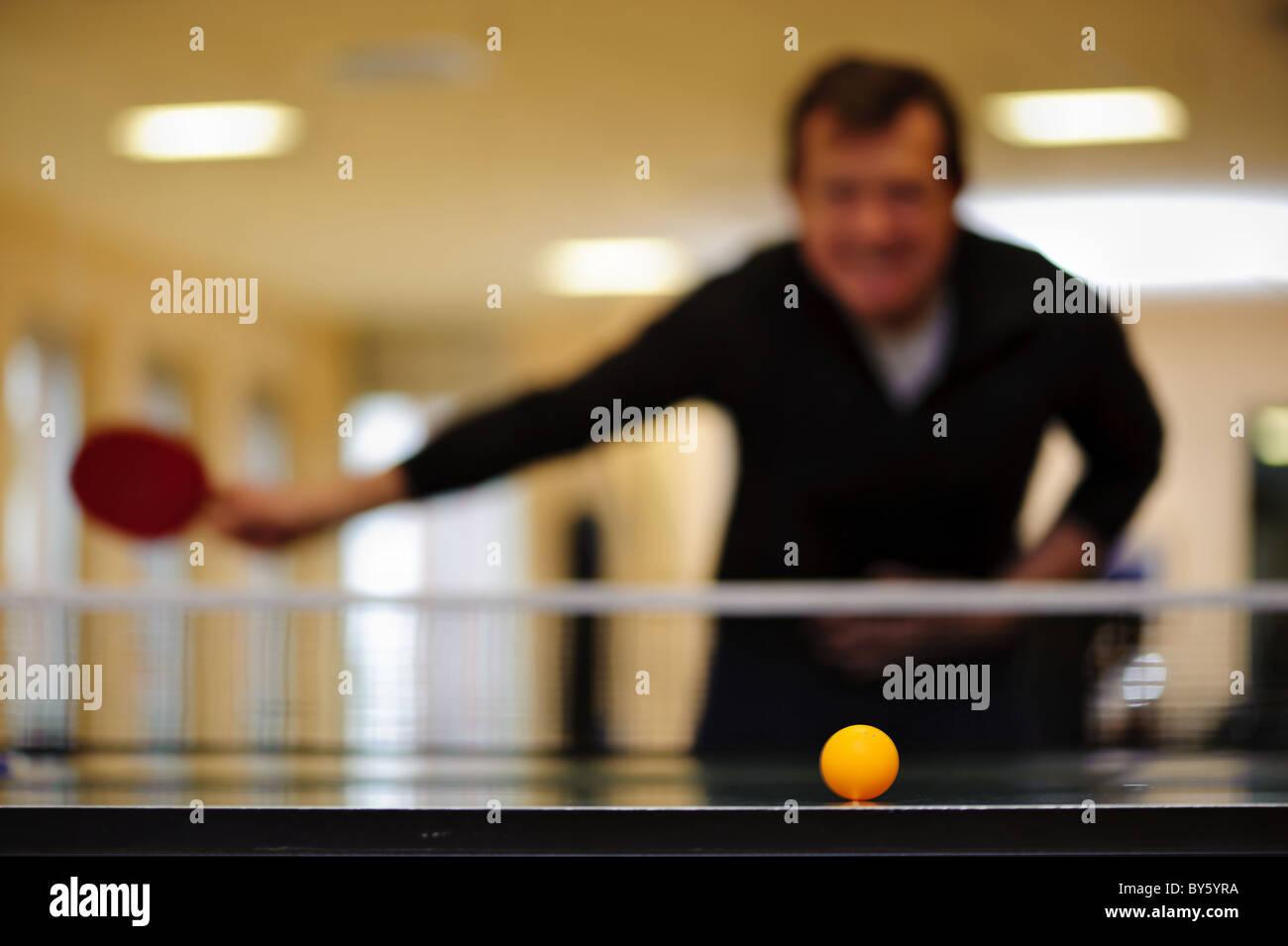 Tenis de mesa Imagen De Stock