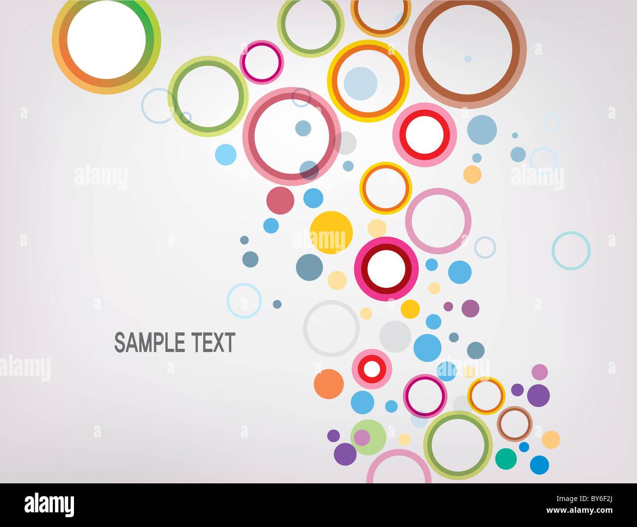 Ilustración de fondo en forma de gota Imagen De Stock