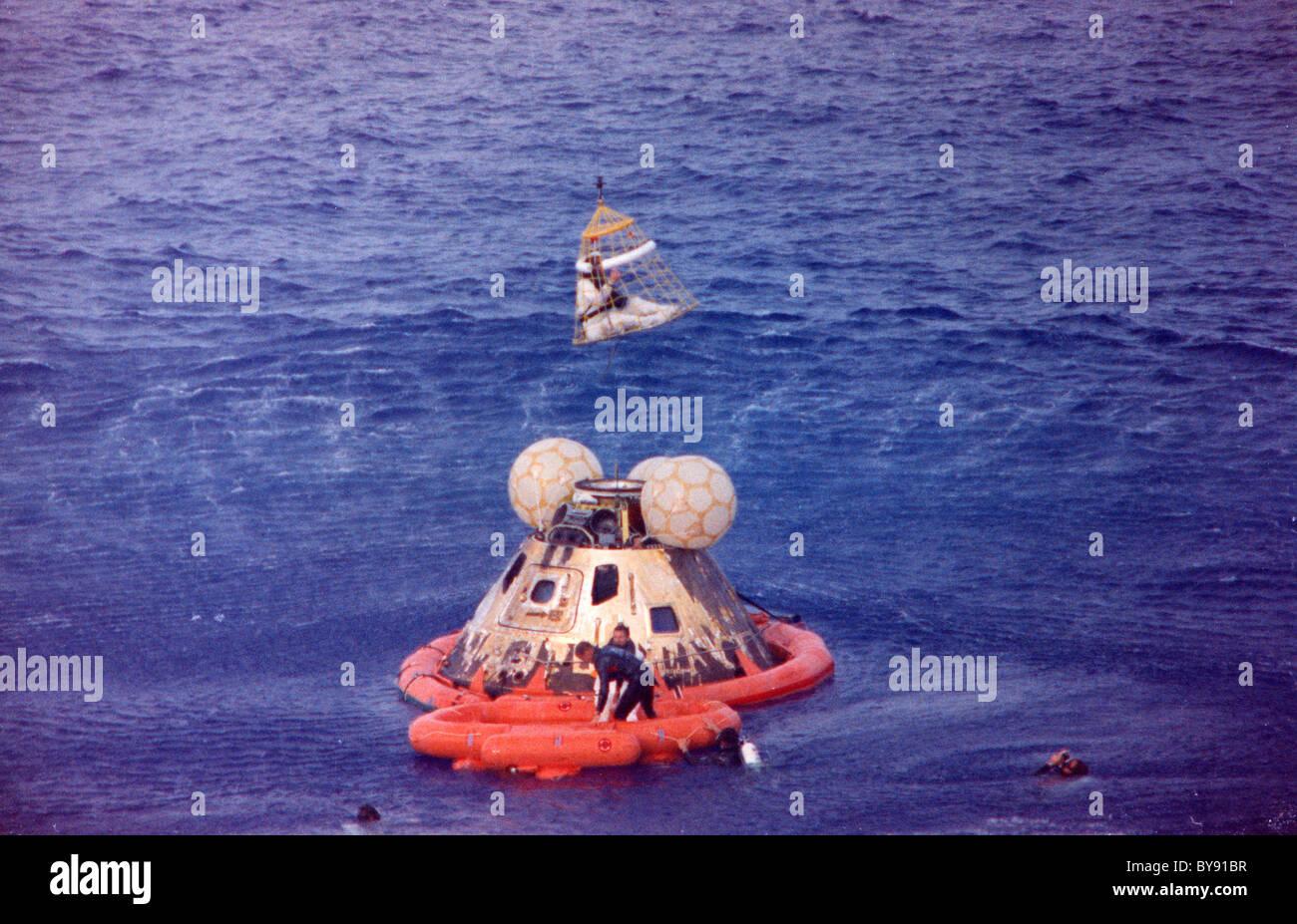 Recuperación Apolo 13 Imagen De Stock