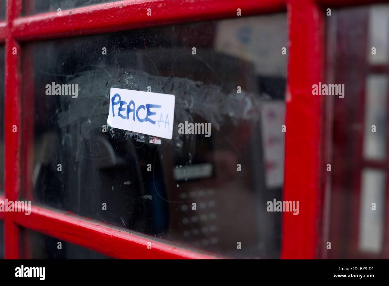 Paz Imagen De Stock