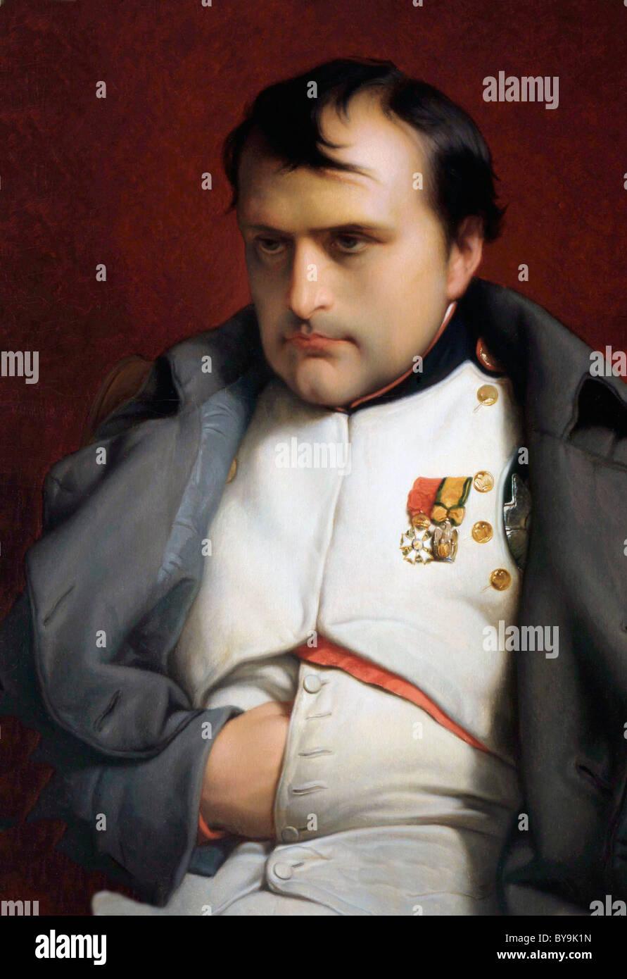 Napoleón I, Napoleón Bonaparte, emperador de los franceses. 1769 - 1821. Imagen De Stock