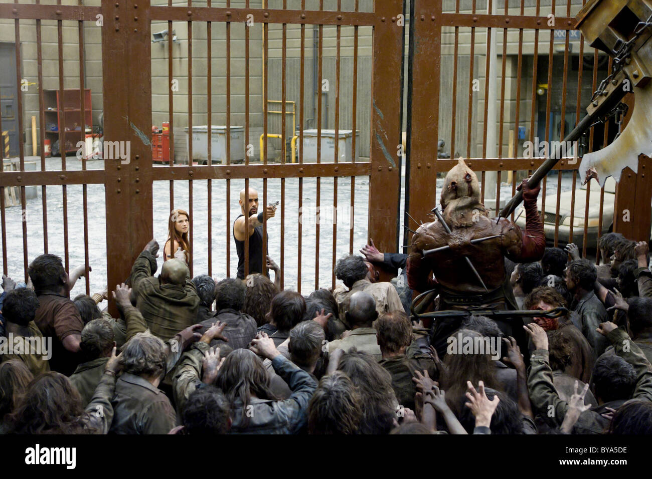 Resident Evil: Afterlife Año : 2010 USA / Director Británico : Paul W.S. Anderson Ali Larter, Boris Kodjoe Imagen De Stock