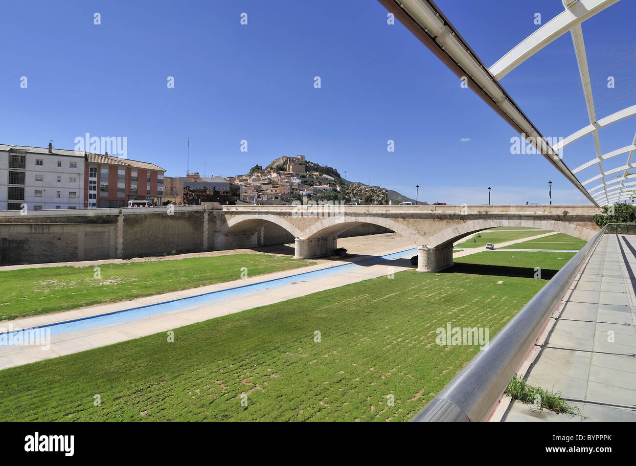 La ciudad de Lorca, Murcia, España Imagen De Stock