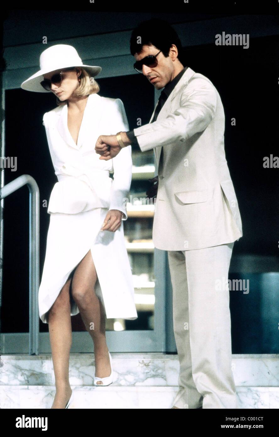 Michelle Pfeiffer Al Pacino Scarface 1983 Foto Imagen