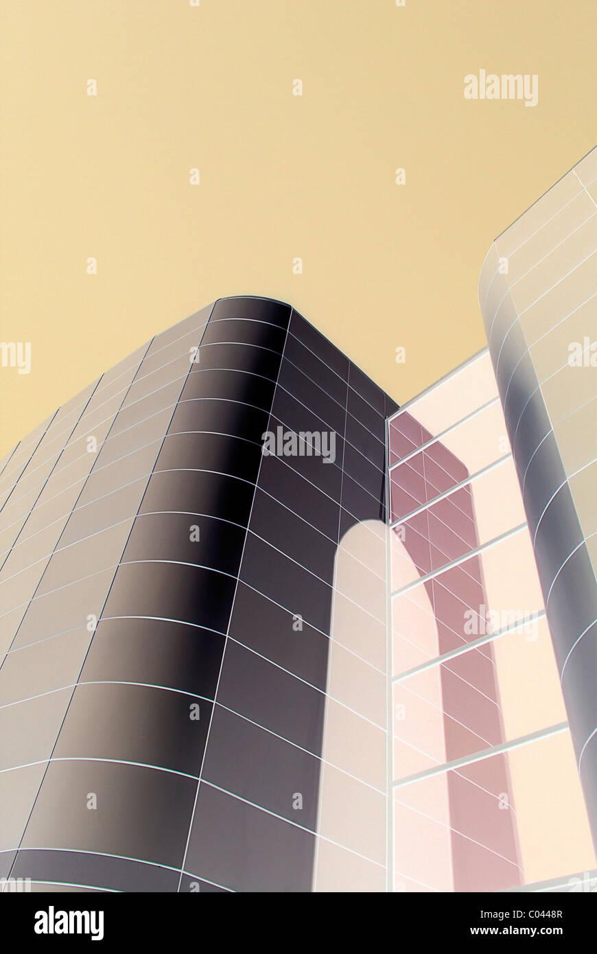 La arquitectura moderna Imagen De Stock