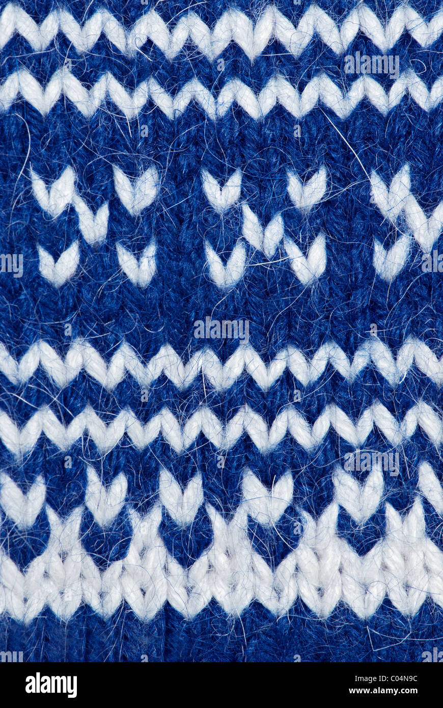 Antecedentes de tejer lana artesanal patrón Imagen De Stock