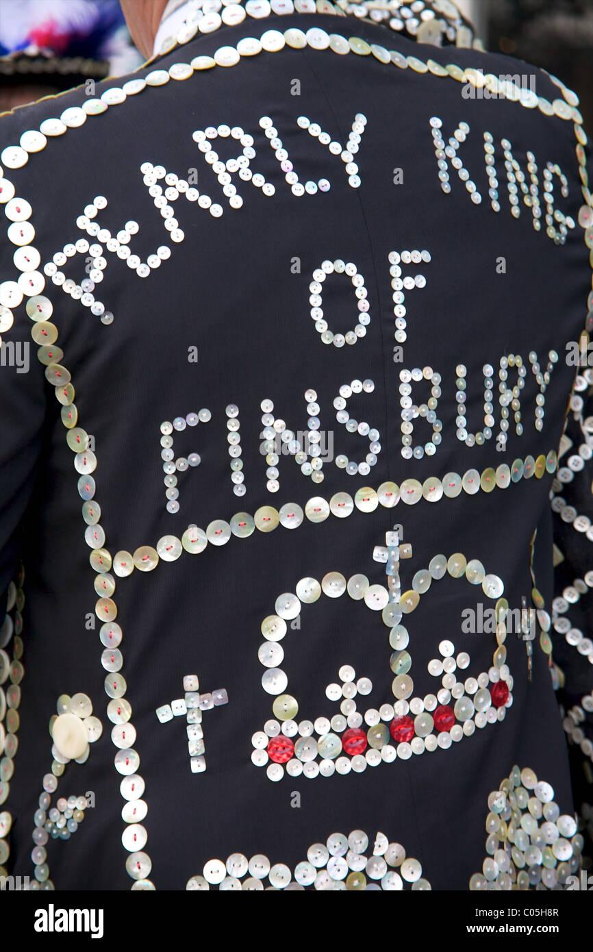 Nacarados Rey de Finsbury en el Desfile del Día de Año Nuevo en Londres 2011 Foto de stock