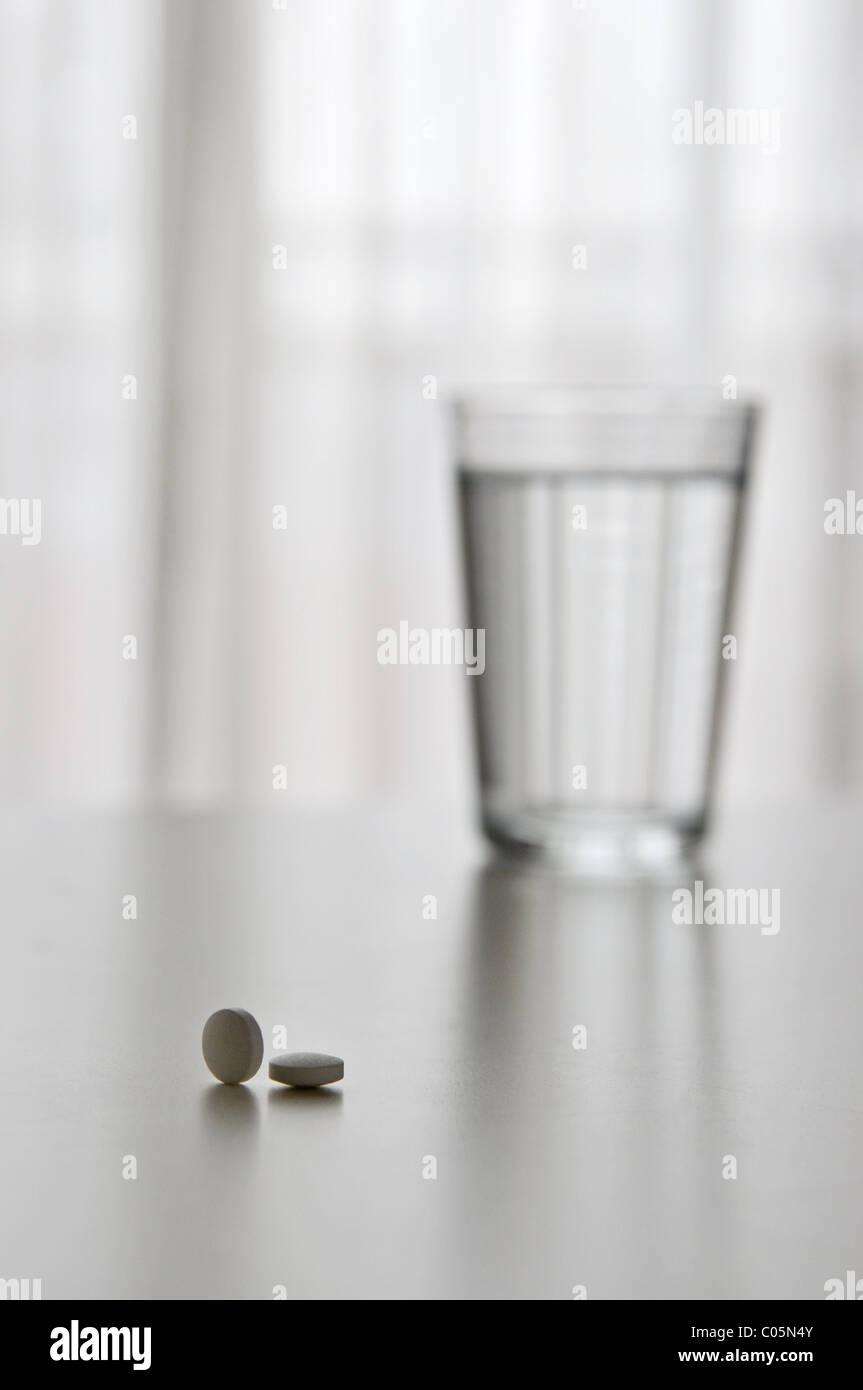 Tome su medicamento Imagen De Stock