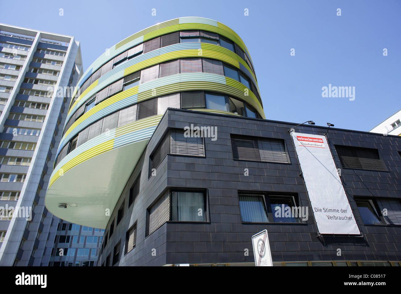Oficina de la Federación de Centros de asesoramiento del consumidor, Berlín, Alemania, Europa Foto de stock