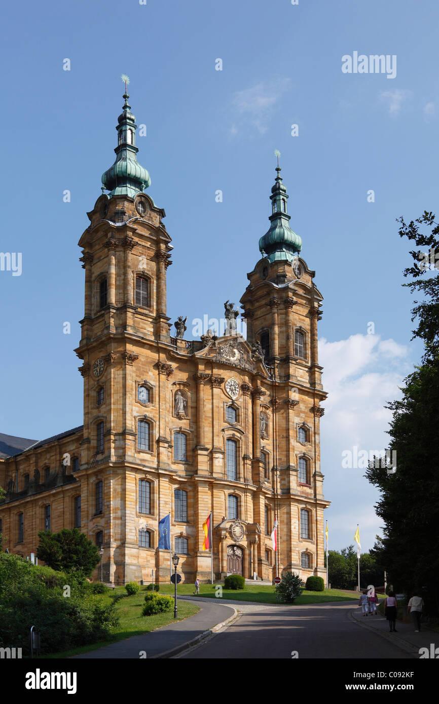 La iglesia de peregrinación de los catorce Santos, Bad Staffelstein, Alta Franconia, Franconia, Baviera, Alemania, Imagen De Stock