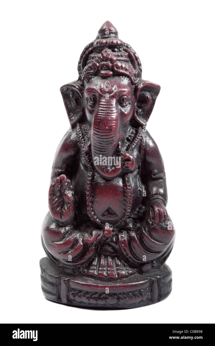 Dios Hindú Ganesh (Ganesha) figurilla Foto de stock
