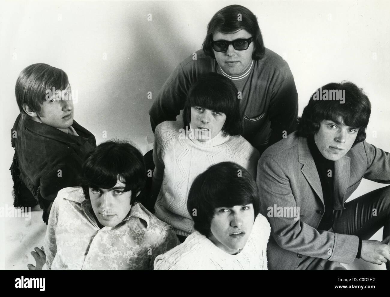 TONY Rivers y los náufragos foto promocional de 60s grupo de pop británico Imagen De Stock