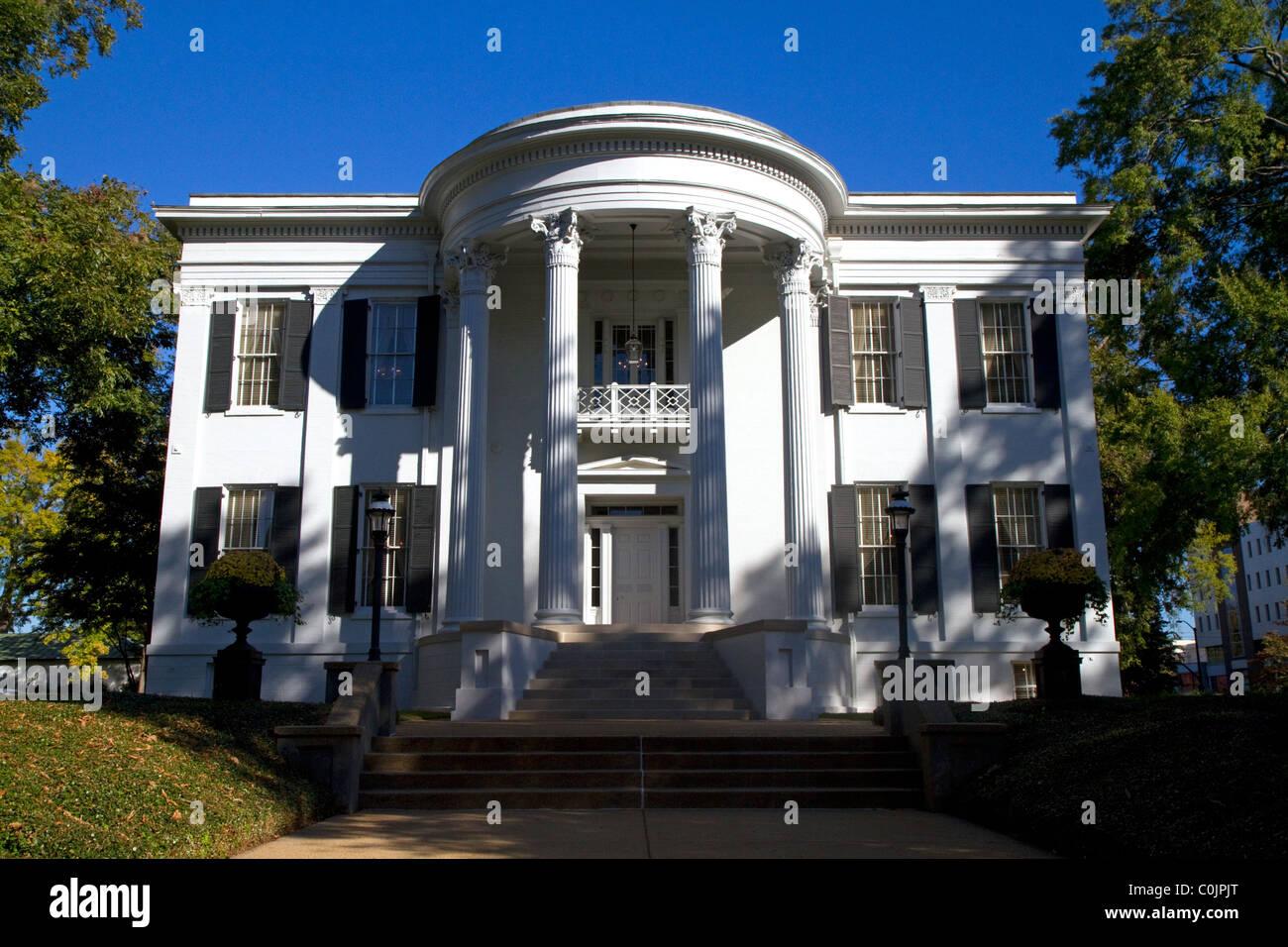La mansión del gobernador de Mississippi en Jackson, Mississippi, Estados Unidos. Imagen De Stock