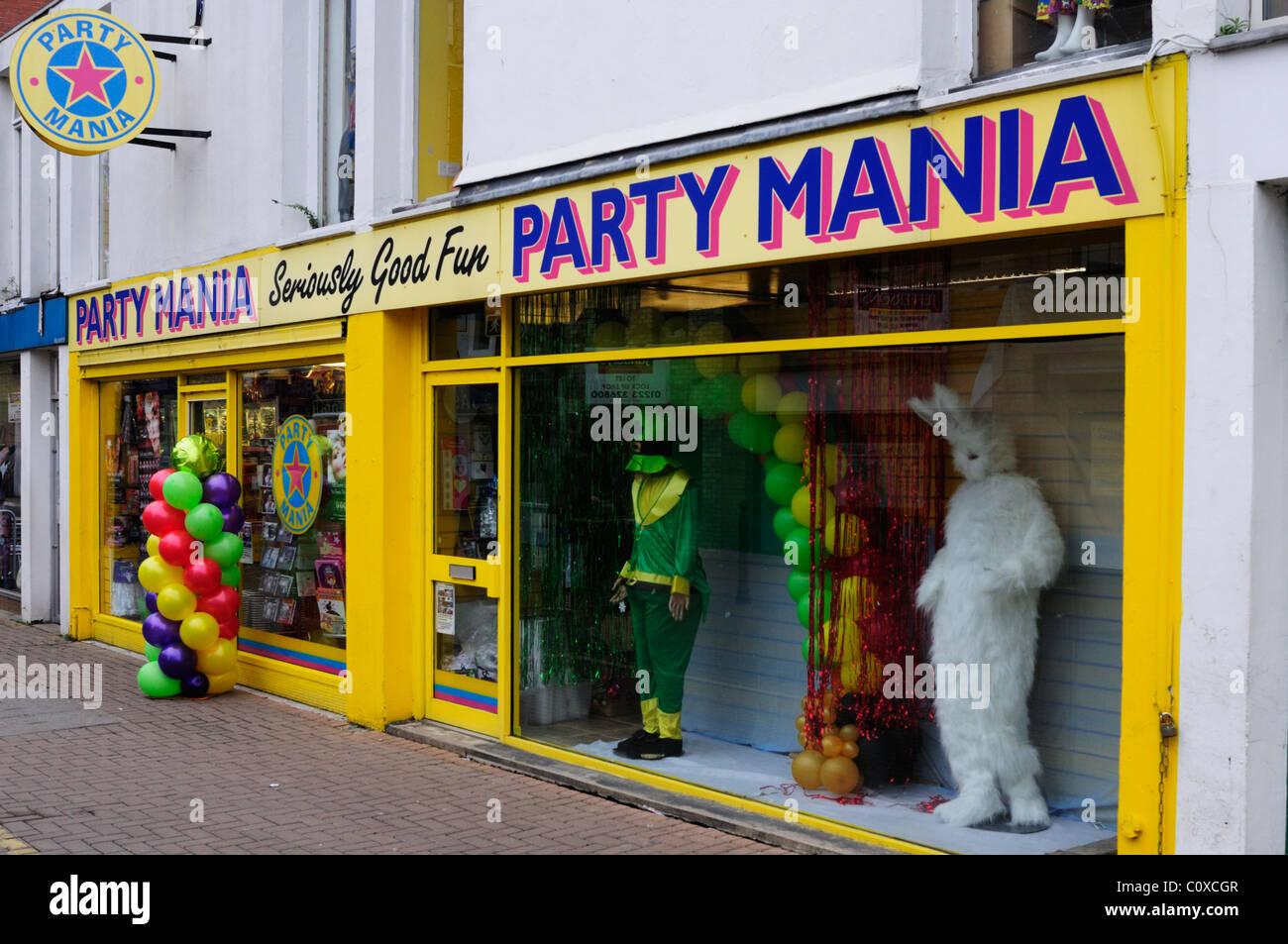 Parte manía Shop, Burleigh Street, Cambridge, Inglaterra, Reino Unido. Imagen De Stock