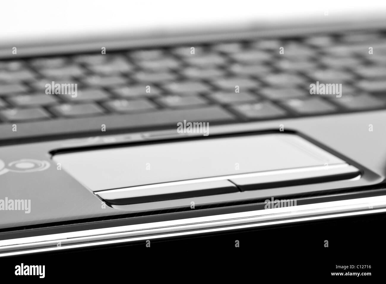 Panel táctil de ordenador portátil moderno Imagen De Stock