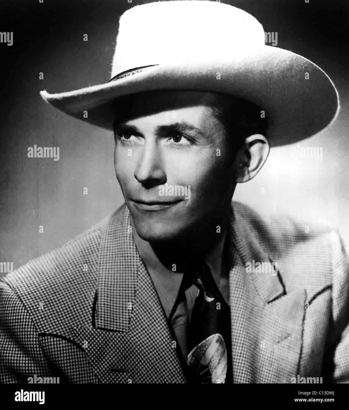HANK Williams, 1950 Foto de stock