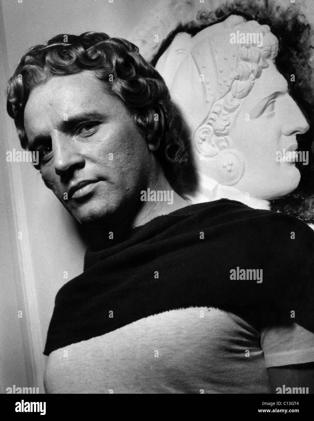 Richard Burton, ca. 1950 Foto de stock