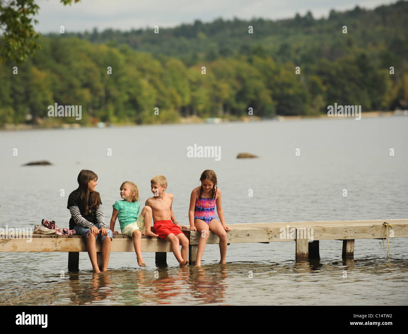 Vida de campo de Maine Imagen De Stock