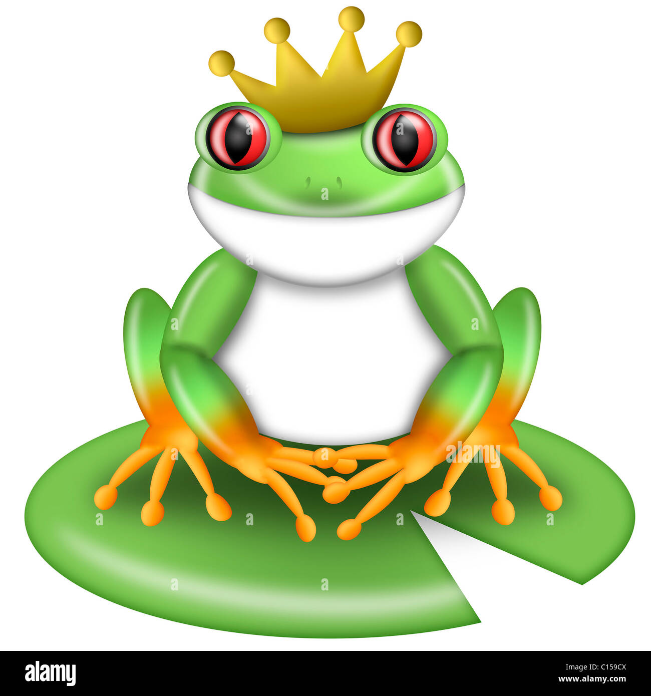 Frog Rain Illustration Imágenes De Stock & Frog Rain Illustration ...