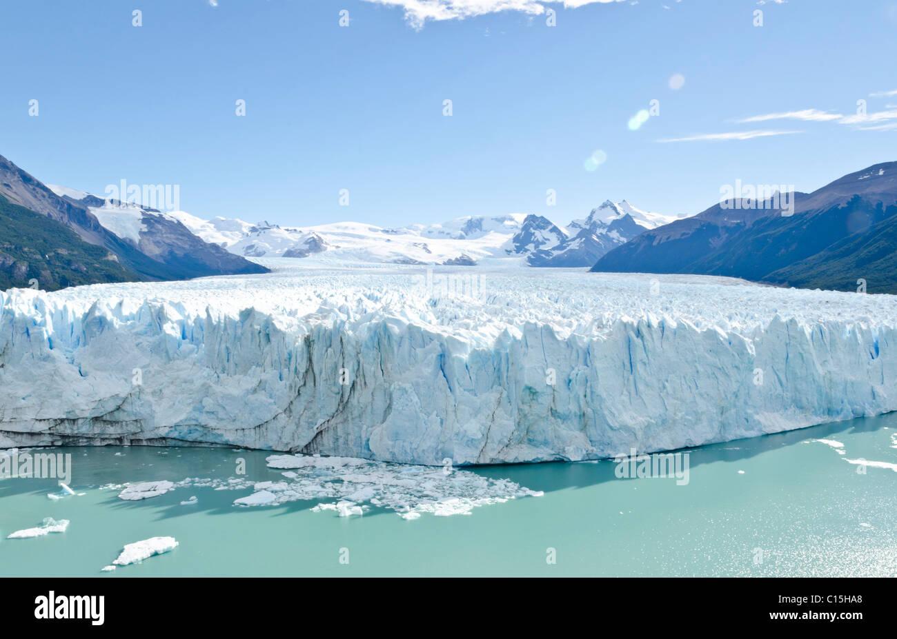 Glaciar Perito Moreno, Patagonia, Argentina Foto de stock