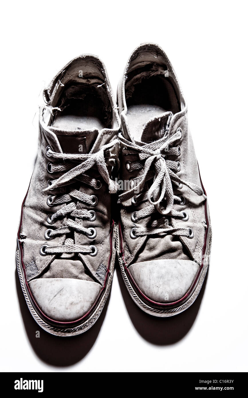 Un par de zapatos Converse All Star Imagen De Stock