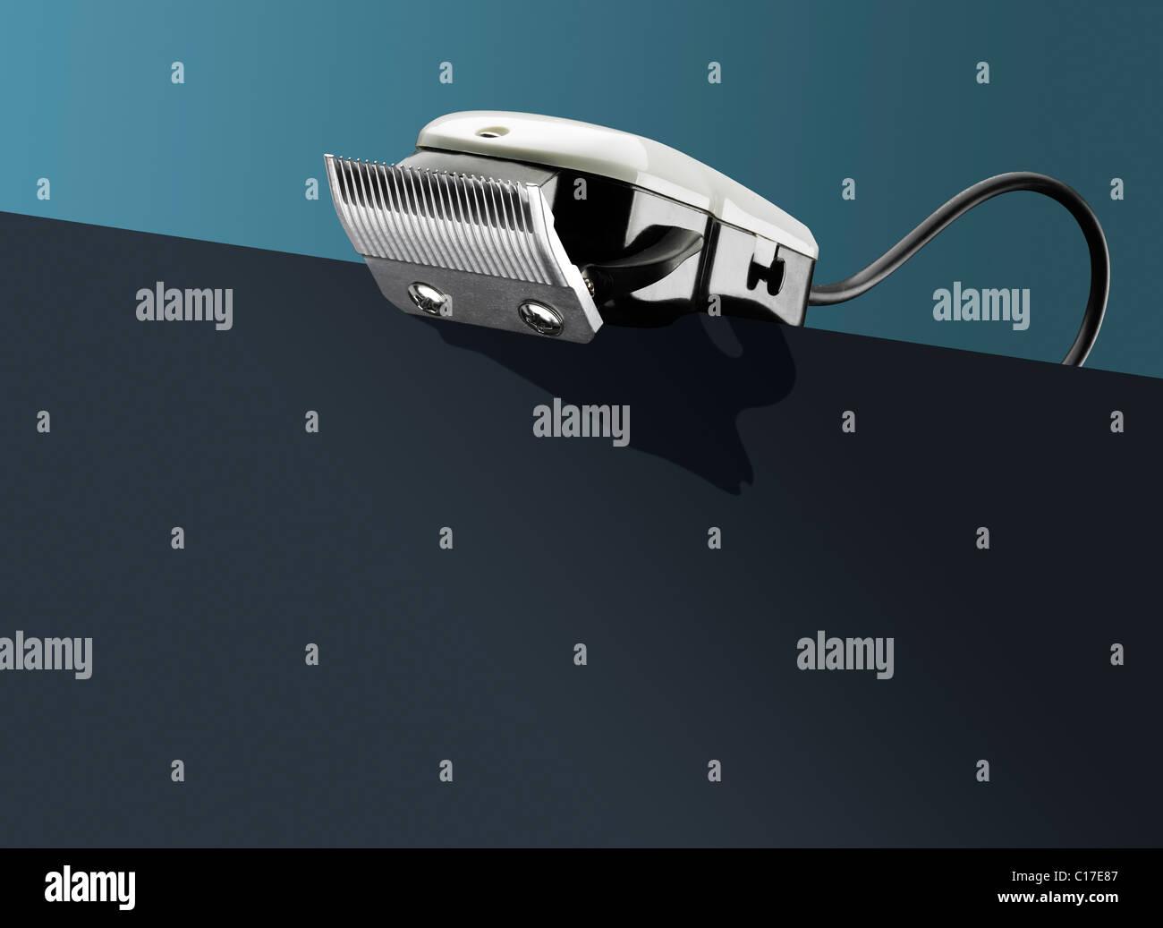Cortapelos en - conceptual Imagen De Stock