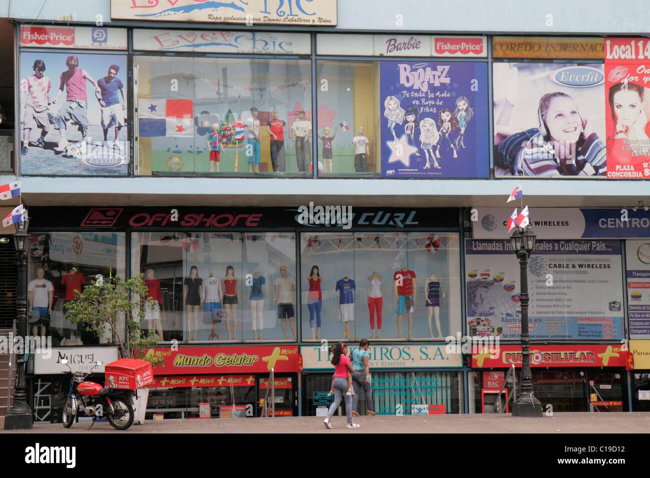 Ciudad de Panama Panamá Bella Vista Via Espana centro comercial urbano  tienda negocios nunca Chic Boutique de ropa ropa americana signo 6411e0d73c0