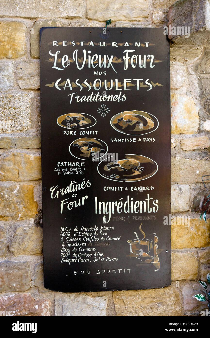 Cafe Restaurant Menus France Fotos E Imagenes De Stock Alamy
