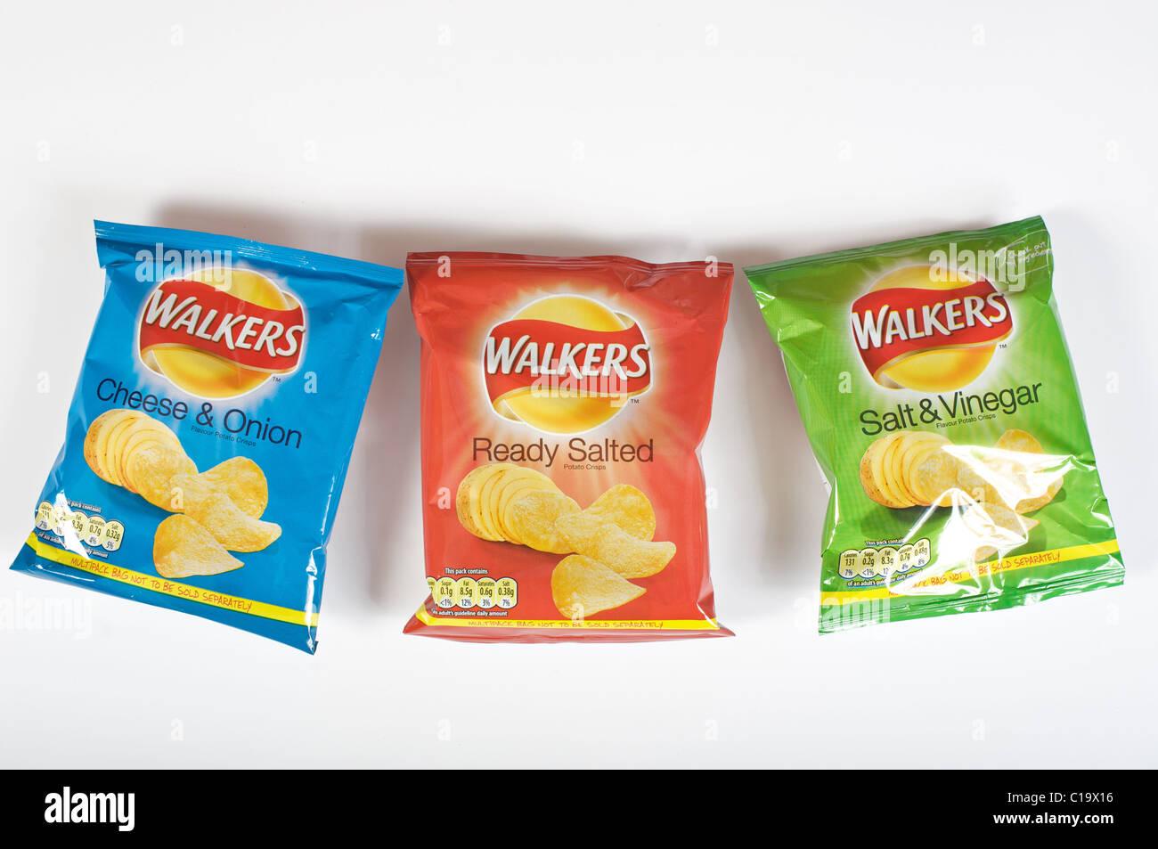 Patatas fritas Walkers Snacks Variety 12 por paquete